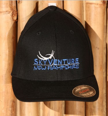 SkyVenture NH black Flexfit hat