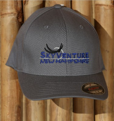 SkyVenture NH grey Flexfit hat