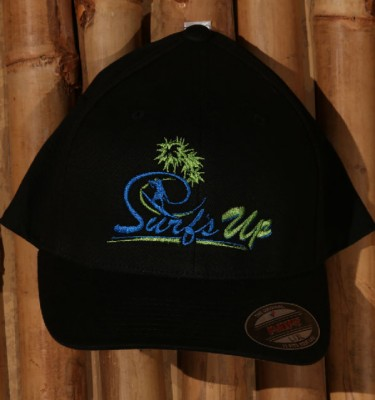 Surfs Up NH black hat