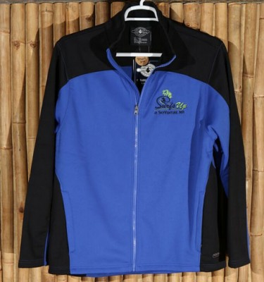 Blue and black Surf's Up jacket